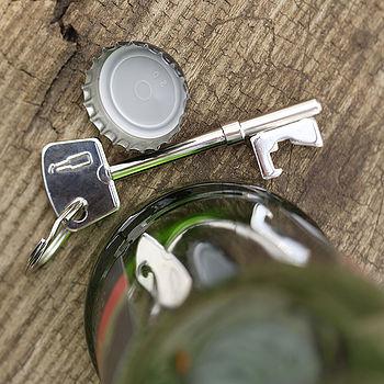 Key Bottle Opener Key Ring