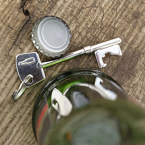 Key Bottle Opener Key Ring - drink & barware