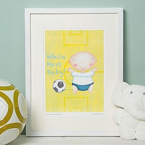 Favourite Football Team Print 'Spurs'