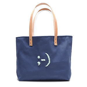 Emoticon Tote - bags, purses & wallets