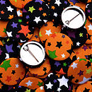 Halloween Badges - Stars