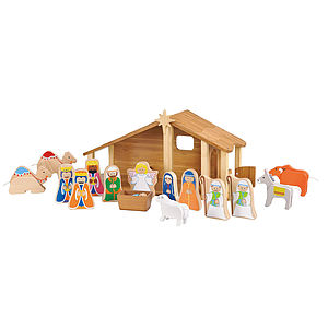 Christmas Nativity Set From Ever Earth