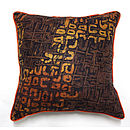 Earth Batik Cushion
