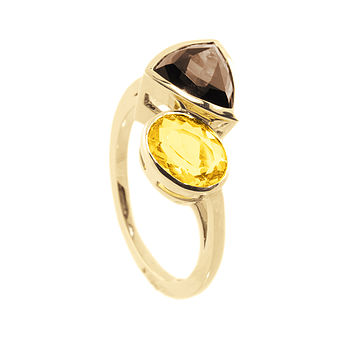 Naomi Gemstone Cocktail Ring