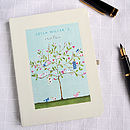 Personalised Tree Notebook