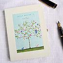 Personalised Tree Notebook