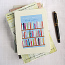 Personalised Books Notebook