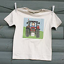 Personalised Tractor T Shirt