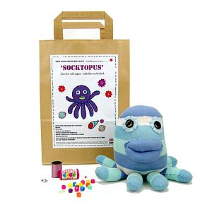 Socktopus Craft Kit - toys & games
