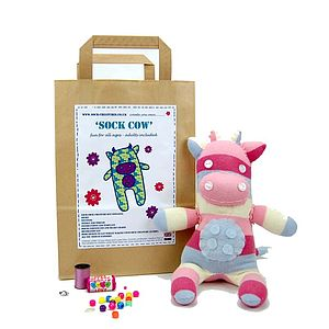 Sock Cow Craft Kit - model & craft kits