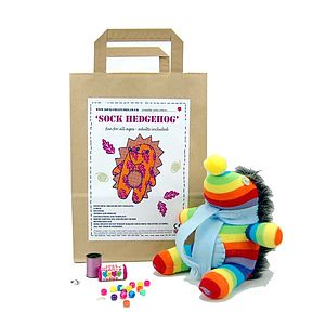 Sock Hedgehog Craft Kit - toys & games