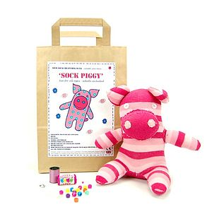 Sock Piggy Craft Kit - toys & games