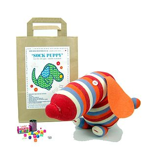Sock Puppy Kit - view all gifts for babies & children