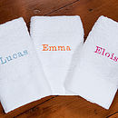 Personalised Child's Towel