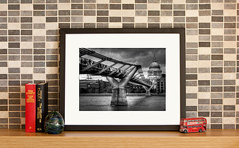 London Millennium Bridge Fine Art Print
