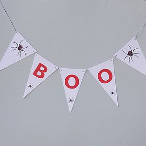 Halloween Bunting - BOO - home accessories