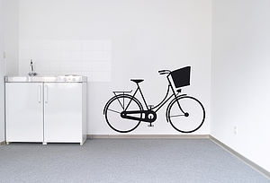 On Yer Bike Wall Sticker - wall stickers