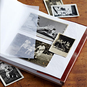 Fair Trade Leather Photo Albums - gifts for photographers