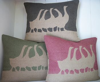 ' French Geese ' Cushion
