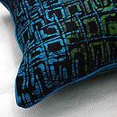 Ocean Batik Cushion