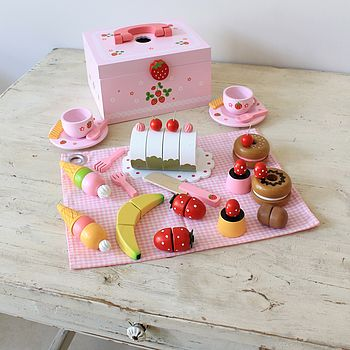 Strawberry Picnic Set