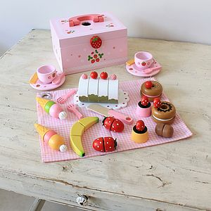 Strawberry Picnic Set - toys & games