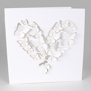 Filigree Pop Up Art Cards