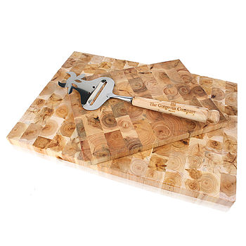 Juniper Wood Mosaic Cheese Board