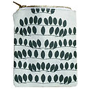 Berlin Leaf Zip Pouch