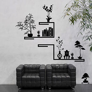 Do It Ya Self Shelf Wall Stickers - home accessories