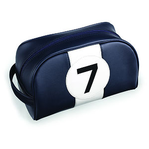 Stirling Moss No7 Washbag - wash & toiletry bags