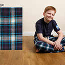 Teenage Woven Check Lounge Pants