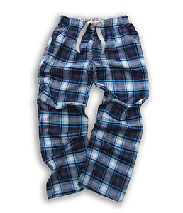 Teenage Woven Check Lounge Pants - nightwear
