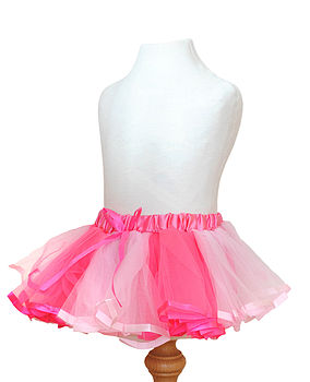 Baby And Toddler Satin Tutu