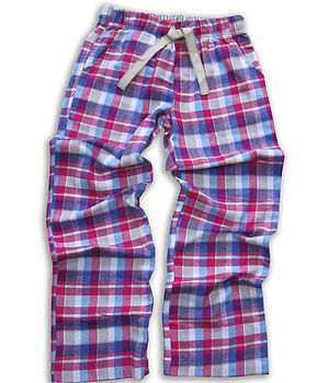 Teenage Check Brushed Woven Lounge Pant