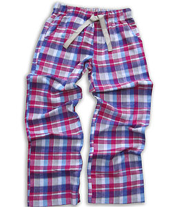 Teenage Check Brushed Woven Lounge Pant - nightwear