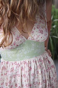Peach Fizz Tulip Dress