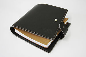 Creative Block Leather Journal