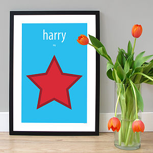 Personalised 'Our Star' Poster