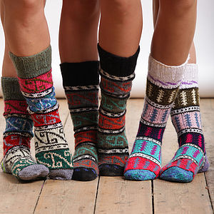 Turkish Socks - gifts under £25 for her
