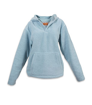 Teenage Hooded Warm Fleece Top