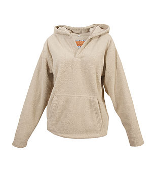 Teenage Sherpa Fleece Hooded Top