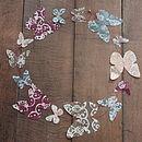Handmade Paper Butterfly Garland