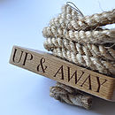 'Up & Away' Oak And Rope Swing