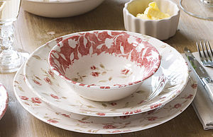 English Rose Dinner Service - tableware