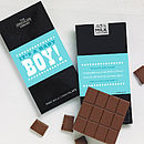 New Baby Chocolate Bars