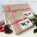 Christmas Gift Wrapping Is Available