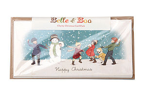 Charity Christmas Snow Scene Cards - cards & wrap
