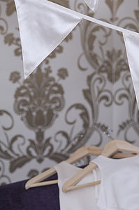 Ivory Wedding Bunting - decorative accessories