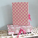 Patterned Box File